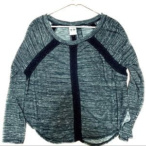 Harley-Davidson Space Dyed Top With Crocheted Trim
